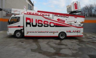 Scala per Traslochi Usata PAUS ASA 44 City Truck su Mitsubishi